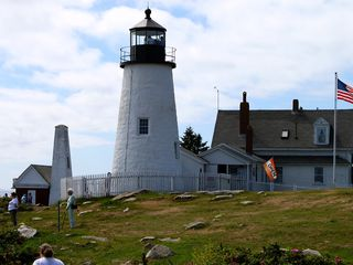 Pemaquid Point cottage photo - Walk to Pemaquid Lighthouse & restaurant