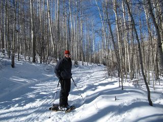 Glenwood Springs cabin photo - Snowshoeing, alpine & nordic skiing nearby!