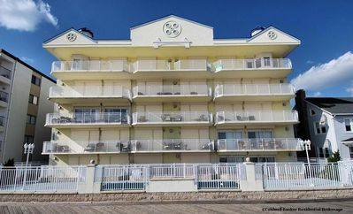 4th floor oceanfront condo located at 12th & boardwalk