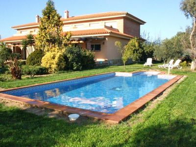 Cozy villa with private pool situated in a quiet area at only 400 meters fr