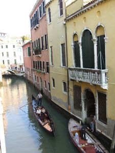 Cannaregio apartment rental - The canal view from the house