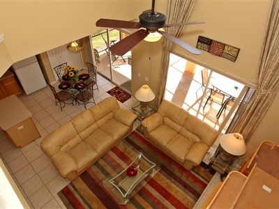 Terra Verde villa rental - The Great Family Room (above)