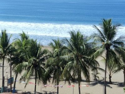 From the roof top balcony - Tree lined Jaco Beach!