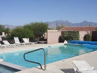 Green Valley townhome photo - Pool Area, just steps from townhome