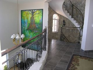 Playa Cofresi villa photo - hallway showing 12 foot mural