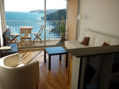 3 room apartment (2 bedrooms) with panoramic sea views
