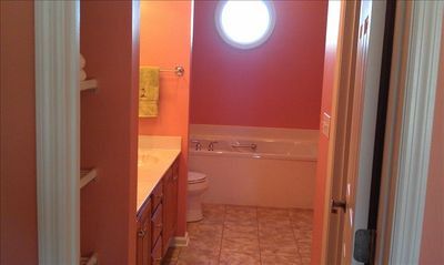 Master Bath, Vacation Home in N Myrtle Beach