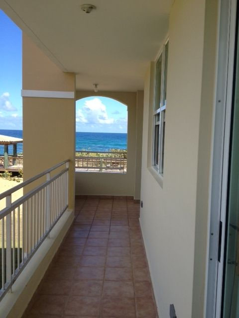 Master bedroom access to balcony