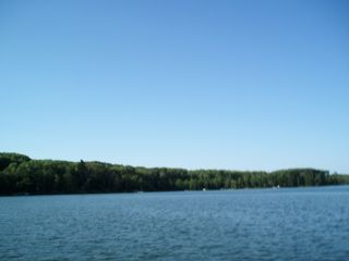 Fifty Lakes cabin photo - Clear Sky over the lake.