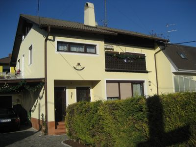 The upper floor of the house, separate entrance, FREE PARKING, Wi-Fi,