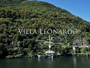 Aerial view of Villa leonardo