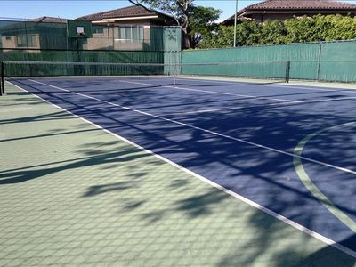 Tennis/Basketball court.