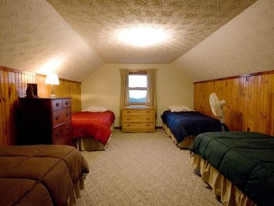 Upstairs dorm room