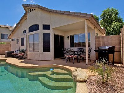 Private Pool with Covered Patio & Gas BBQ Grill