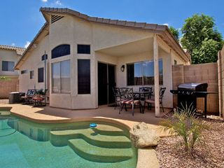 Gilbert house photo - Private Pool with Covered Patio & Gas BBQ Grill