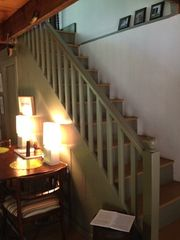 Warm Springs house photo - Stairs to bedrooms.