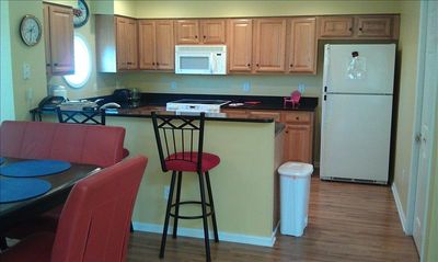 Fully equipped Kitchen,  Vacation Home in N Myrtle Beach
