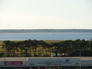 Vacation Homes in Ocean City condo photo - View of Bay from Bedrooms 2&3 and Entrance Balcony