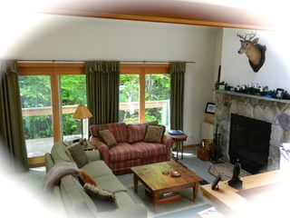 Carrabassett Valley condo photo - Beautiful mountainside condo; walk to the lifts and base lodge.