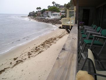 Malibu house rental - Deck