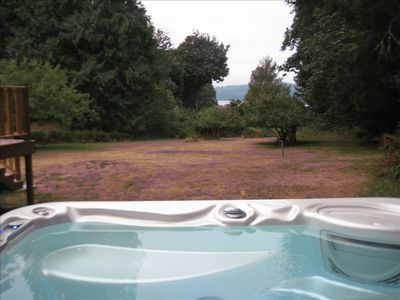 View of Wolf Glen from the private Hot Tub