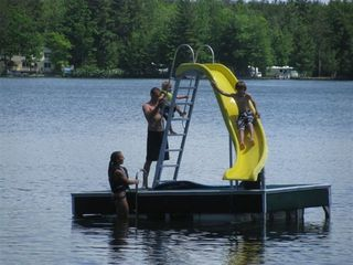 Interlochen cottage photo - Having fun in the water...fun for all ages
