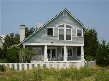 Bald Head Island cottage rental - Back View