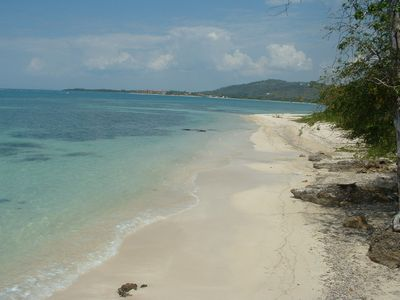 Whitehouse villa rental - Another picture of our beach.