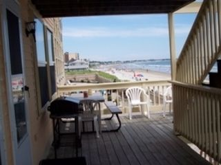 Old Orchard Beach apartment photo - Deck ! Great views!