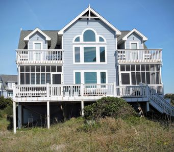 Single Family Home from Beach Side