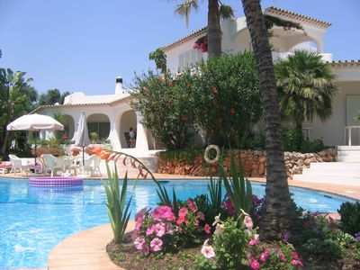 Sesmarias villa rental - Pool area with terrace