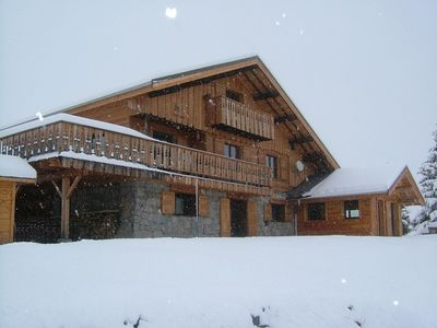 Beautiful duplex apartment in a typical chalet - the heart of the Sybelles