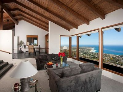 Family Room with 6 whitewater views