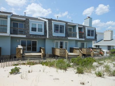 Only 4 oceanfront units and 14 units total in the complex.