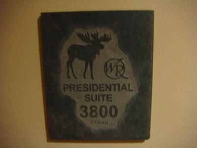 Entrance to Presidential Suite 3800