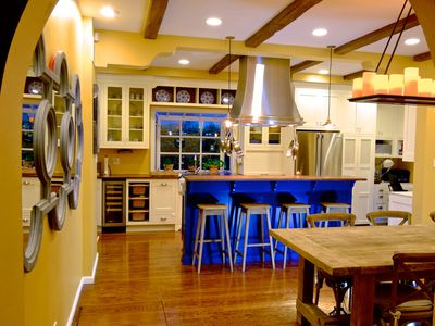 Another shot of the recent dining room/kitchen remodel.