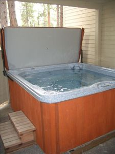 Newer Hot Tub