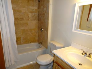 Ludlow house photo - NEW travertine bathroom