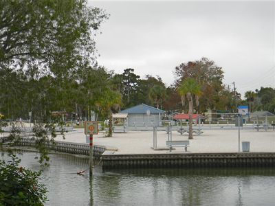 Roger's Park on the Weeki Wachee River