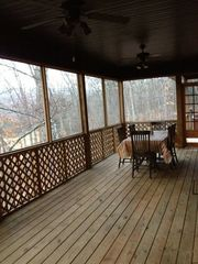 Fayetteville house photo - Back Deck