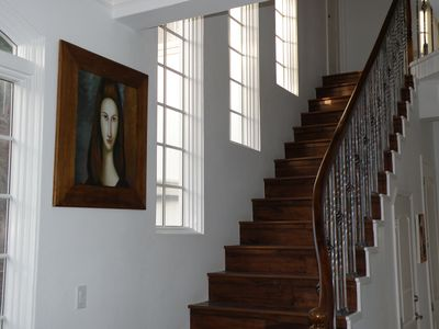 Staircase to Bedrooms and Study level