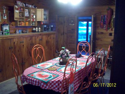 Dining area Main Cabin