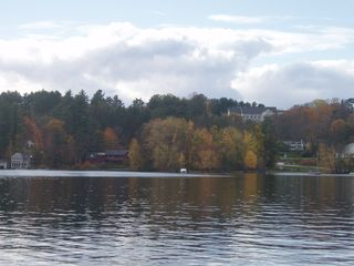 Bridgton house photo - The lake in the fall