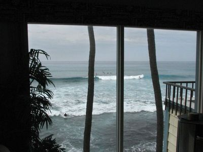 Ocean View Sitting In Living Room - Surfs Up !