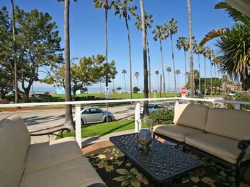 Front Patio with View of Kellog Park and La Jolla Shores Beach