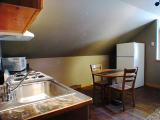 West Yellowstone house photo - Full kitchen in Apartment - perfect for two.