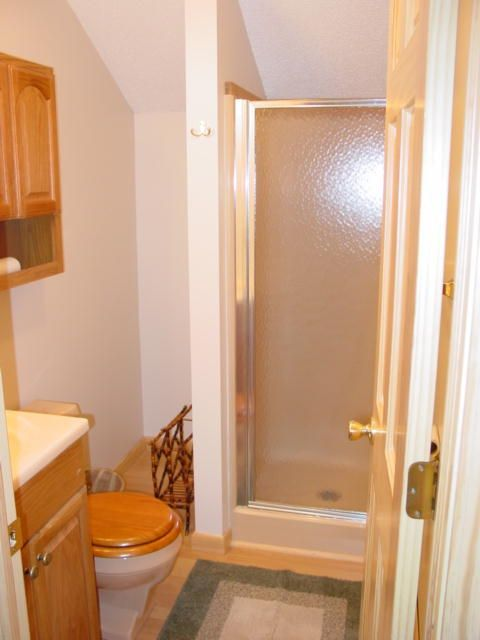 Bathroom on second level.