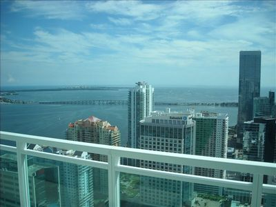 Heart of Brickell Penthouse - View of Bay and Atlantic Ocean