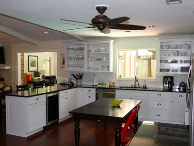 Kitchen and Bar.