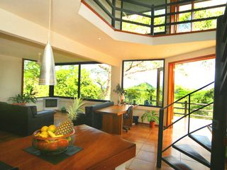Manuel Antonio villa photo - Living area from kitchen (Casa Luz)